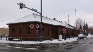Former Northern Pacific Depot in Downtown CDA
