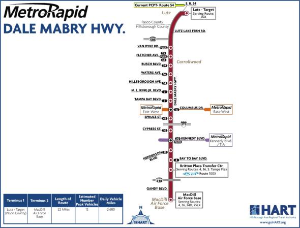 MetroRapid Dale Mabry Hwy