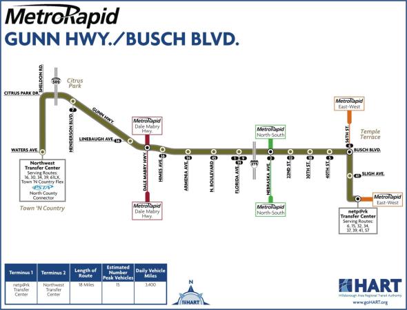 MetroRapid Gunn Hwy-Busch Blvd