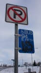 STA Bus Stop on Route 94 Photo Credit: Zachary Ziegler