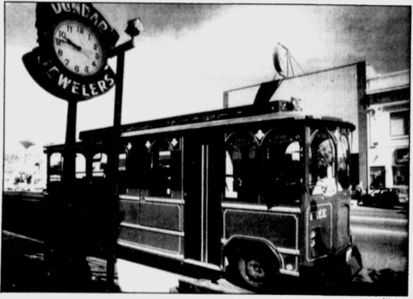 Yakima Trolley Bus Photo Credit: AP/The Spokesman Review (6/8/1991)